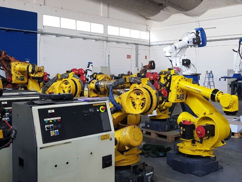 robot industrial de segunda mano