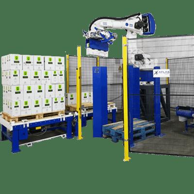 robot paletizador de cajas ocasion