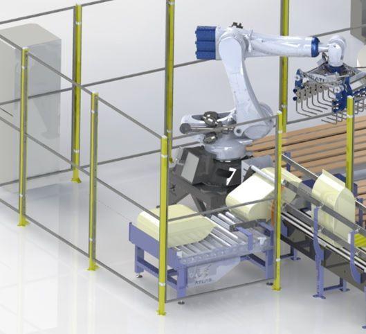 robot para paletizar sacos de pienso