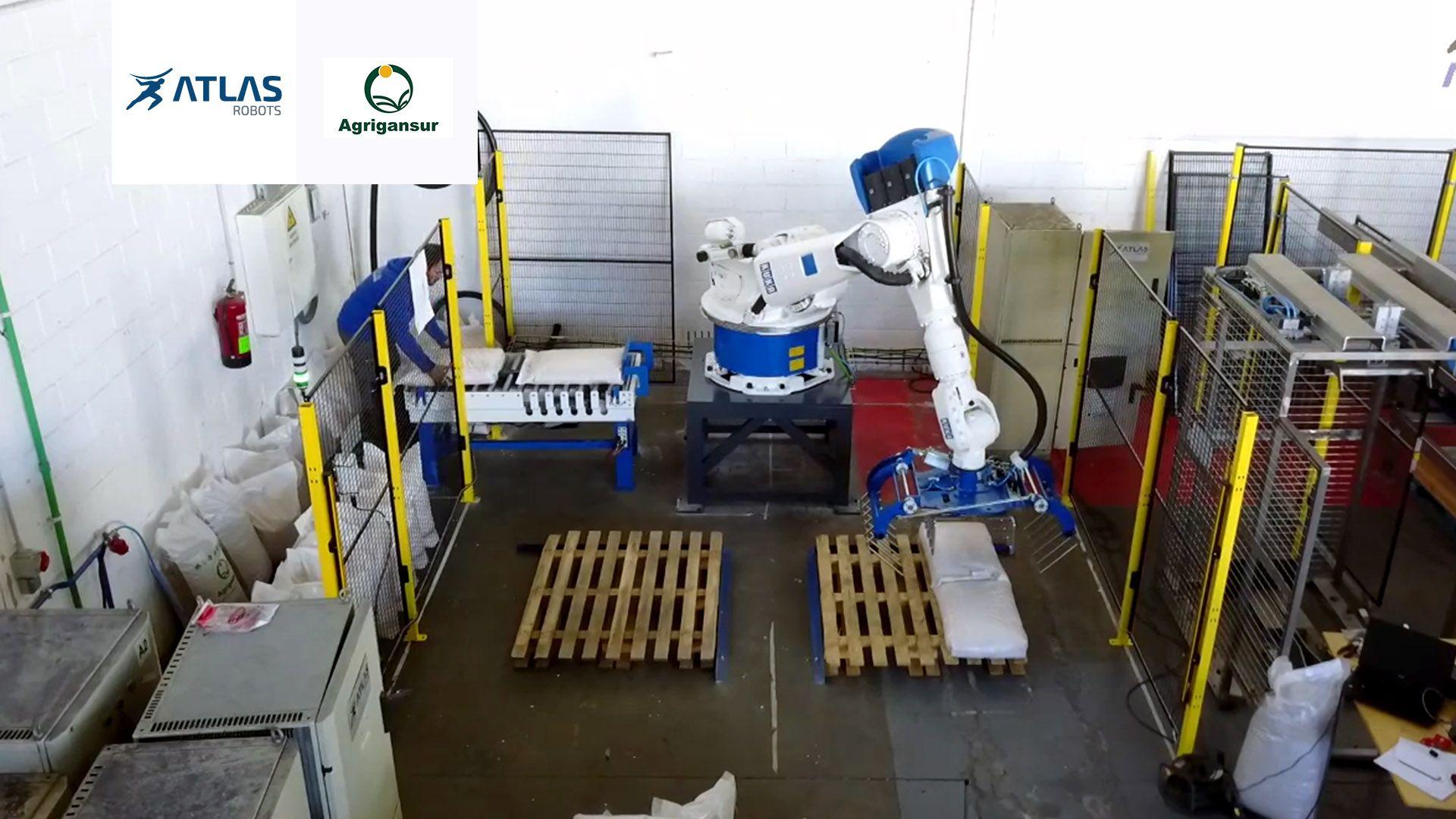 Robot Paletizador de sacos – Agrigansur
