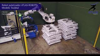 Robot paletizador sacos de pienso – HEREDEROS DE NÚÑEZ HONRADO