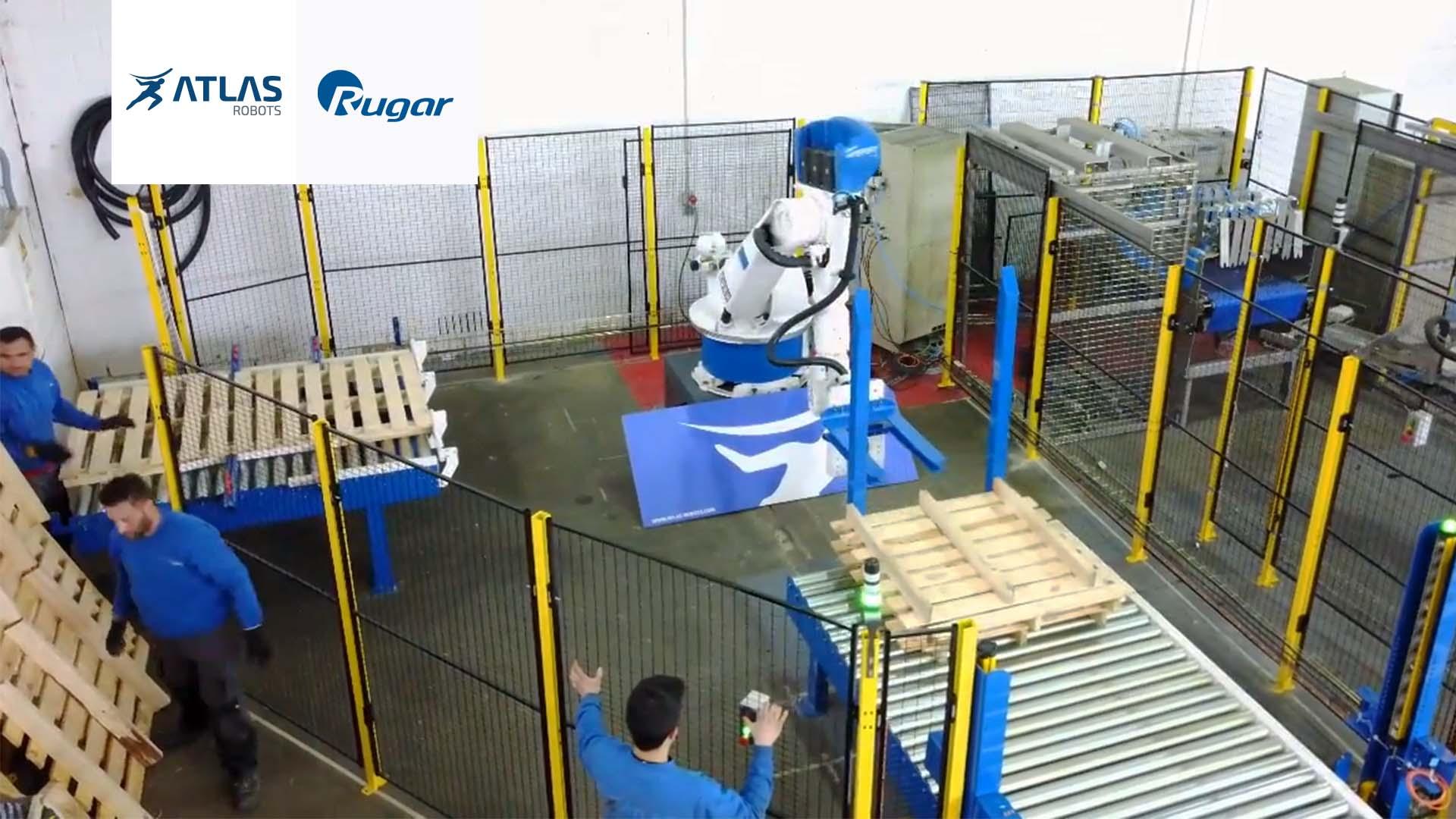Robot paletizador de palets – RUGAR