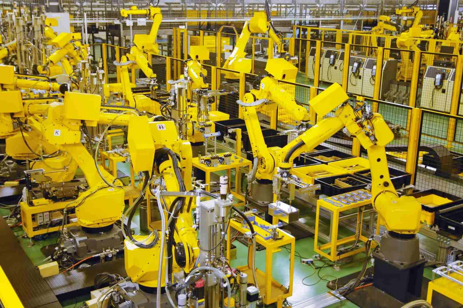 robot fanuc de segunda mano