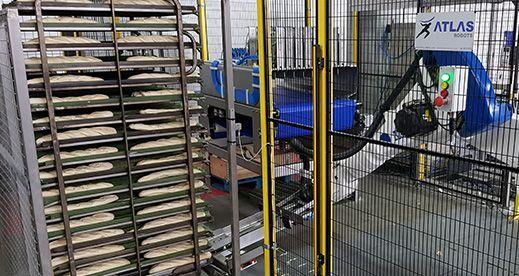 Robot Manipulador de bandejas de pan – Fabricante