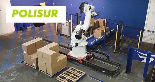 Robot Paletizador de cajas – Polisur
