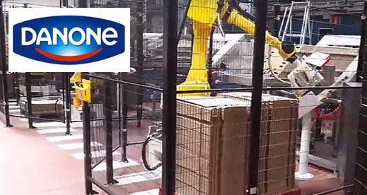 Robot Manipulador de cajas – Danone