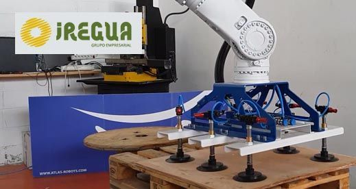 Robot Manipulador de tableros – Iregua