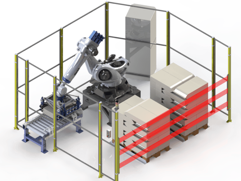 robot paletizador de sacos