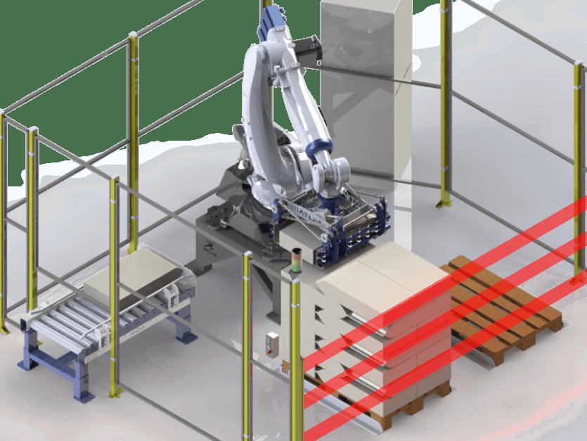 paletizador de sacos robotico