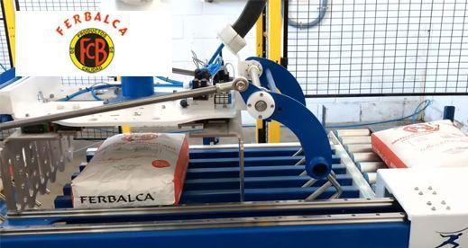 Robot Paletizador de sacos de cemento – FERBALCA