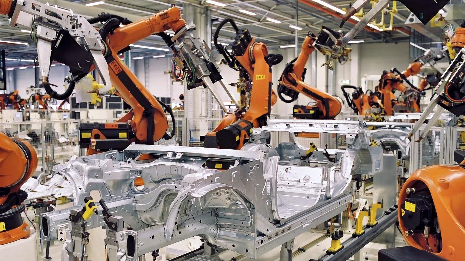robots industriales en el mundo