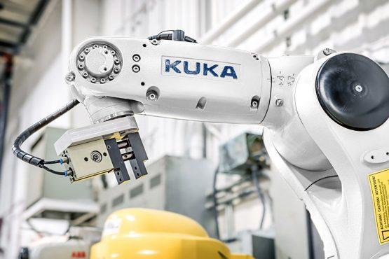 robot kuka de segunda mano