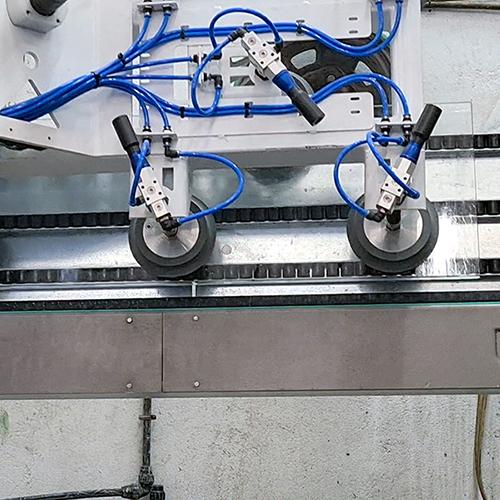 robot vidrio