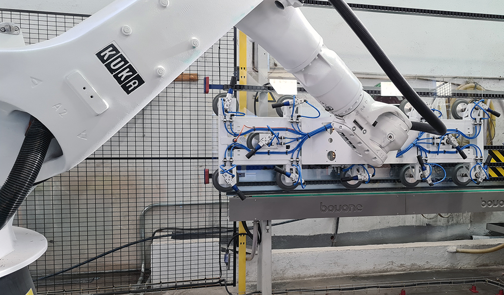 Robot para mover cristales de Atlas Robots