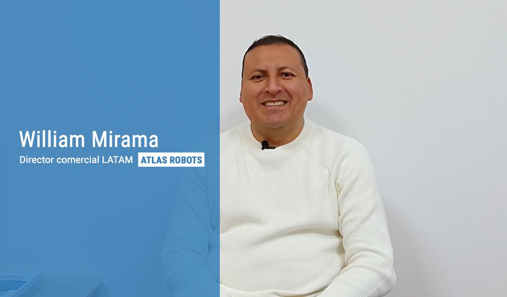 Hablamos con William Mirama sobre el paletizado automático