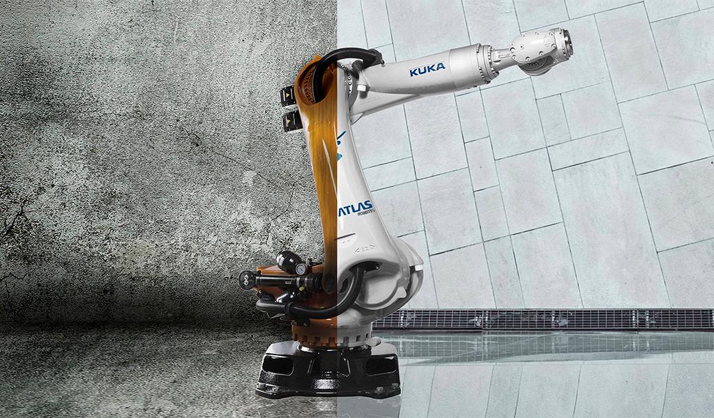 robot KUKA reacondicionado